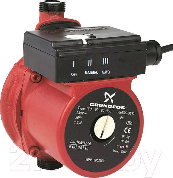 Электрический насос Grundfos  Upa для повышения давления