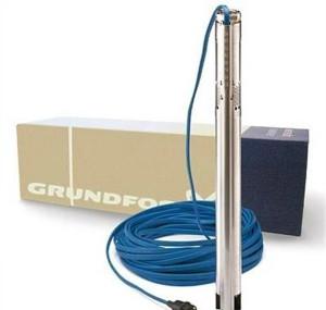 Технические характеристики погружного насоса для скважины Grundfos