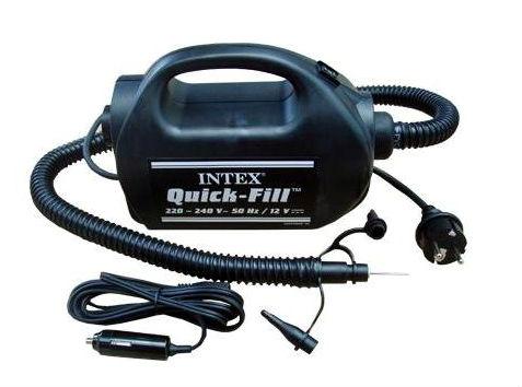 Intex электрический лодочный насос