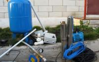 водоснабжение частного дома из скважины схема