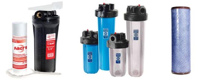 фильтры для очистки воды от железа из скважины